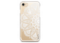 Coque iPhone 7/8 White Lace Mandala