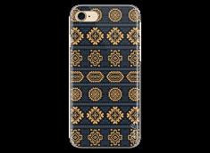 Coque iPhone 7/8 Blue & Yellow aztec