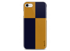 Coque iPhone 7/8 Yellow & Blue geometric forms