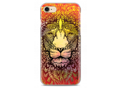 Coque iPhone 7/8 Yellow Lion Mandala