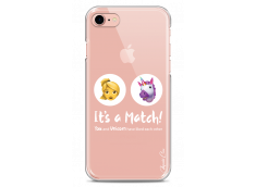 Coque iPhone 7Plus/8Plus You and unicorn It's a match