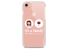 Coque iPhone 7/8 You and Wine It's a match