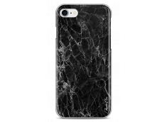 Coque iPhone 7Plus/iPhone 8Plus Modern Black Marble