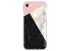 Coque iPhone 7/iPhone 8 Diamond Collage Marble