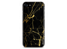 Coque iPhone 7Plus/iPhone 8Plus Gold and Black Marble