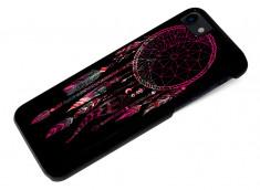 Coque iPhone 7 Black Collection Dreamcatcher-Pink