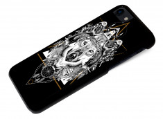 Coque iPhone 7 Black Collection Ethnic-Loup