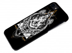 Coque iPhone 7 Black Collection Ethnic-Ours