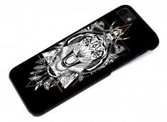 Coque iPhone 7 Black Collection Ethnic-Tigre