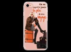 Coque iPhone 7/8 Les folies de nos voyages