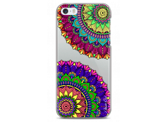 Coque iPhone 5C Double Cercle Mandala