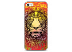 Coque iPhone 5C Yellow Lion Mandala