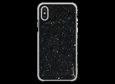 Coque iPhone X Black Diamond Marble