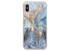 Coque iPhone X Blue Sky Marble