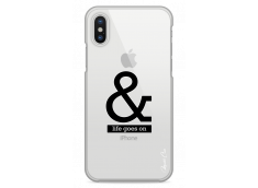 Coque iphone X & Life Goes On