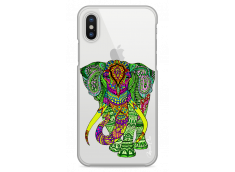 Coque iPhone X Elephant Mandala