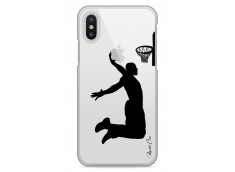 Coque iPhone X Basketball Player