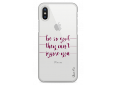 Coque iPhone X Be so good