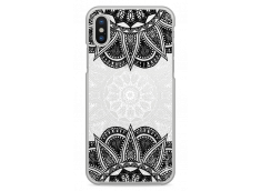 Coque iPhone X Black & White Mandala