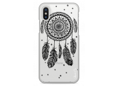 Coque iPhone X  Black drawing dreamcatcher