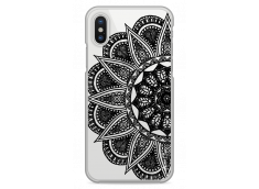 Coque iPhone X Black Lace Mandala