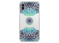 Coque iPhone X Blue Star Mandala