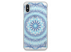 Coque iPhone X Blue Galaxy Mandala