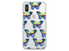 Coque iPhone X Watercolor butterflies pattern