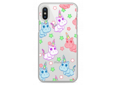 Coque iPhone X Cartoon pattern licorne