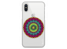 Coque iPhone X Multicolore Mandala