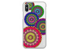Coque iPhone X Cercles collection Mandala