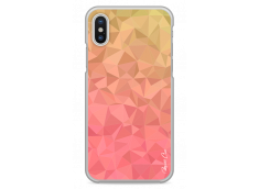 Coque iPhone X Chic & Geometric multicolor pattern