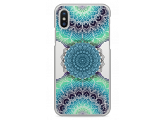 Coque iPhone X Collage Multicolor Mandala