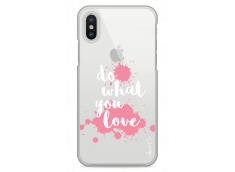 Coque iPhone X Do What You Love