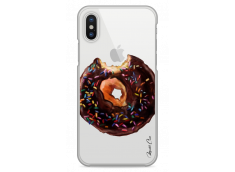 Coque iPhone X Chocolate Donut