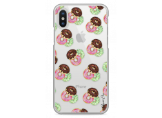 Coque iPhone X Donut Pattern