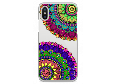 Coque iPhone X Double Cercle Mandala