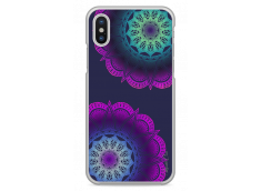 Coque iPhone X 3D Double Mandala