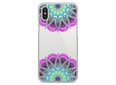 Coque iPhone X Multicolor Lace Mandala