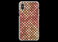 Coque iPhone X Fashion & Geometric Multicolor Design