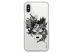 Coque iPhone X Flowers mask