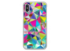 Coque iPhone X Fresh Geometric Color