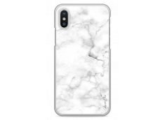 Coque iPhone X White Marble