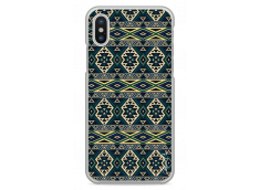 Coque iPhone X Green aztec
