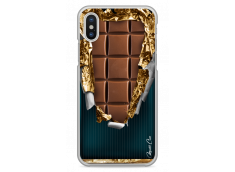 Coque iPhone X Famous Chocolate