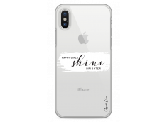 Coque iPhone X Happy Girls Shine Brighter