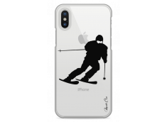 Coque iPhone X I am a skier