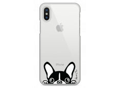 Coque iPhone X Dog je suis là