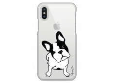 Coque iPhone X Dog je t'attends