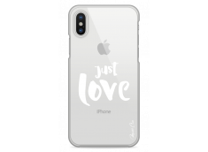 Coque iPhone X Just Love